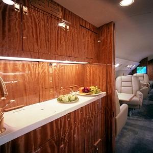 VIP Interior Galley